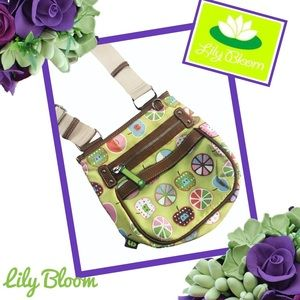 LILY BLOOM Lime Crossbody